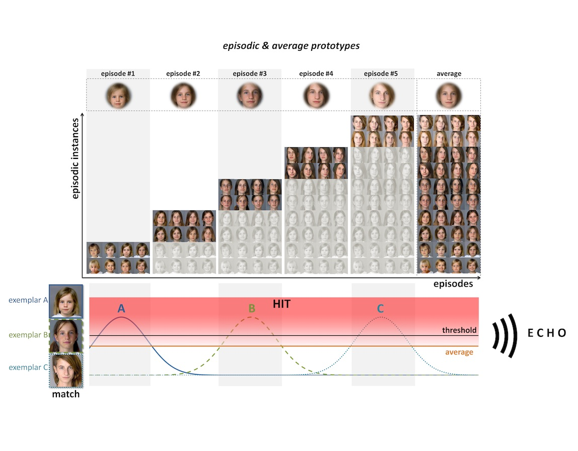 The genesis and processing of facial representations and prototypes